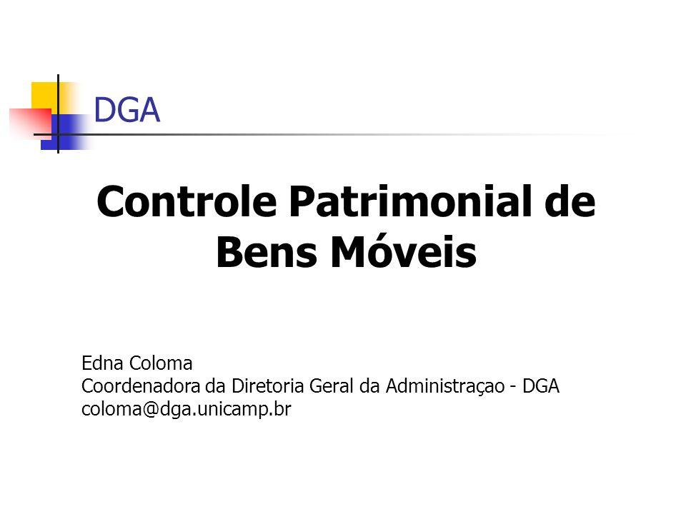 Controle Patrimonial de Bens Móveis