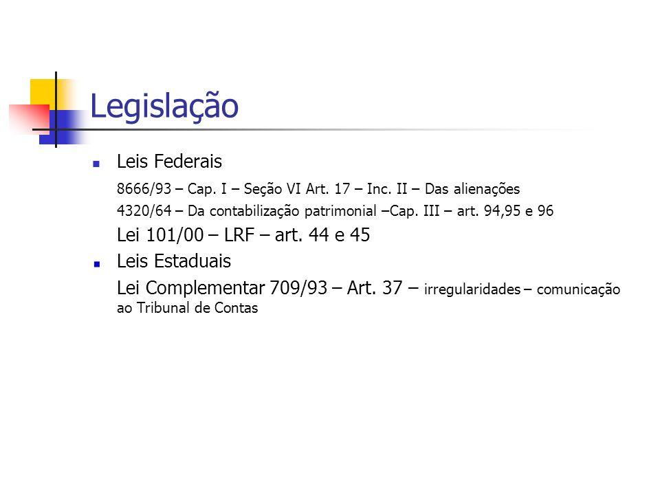 Legislação Leis Federais