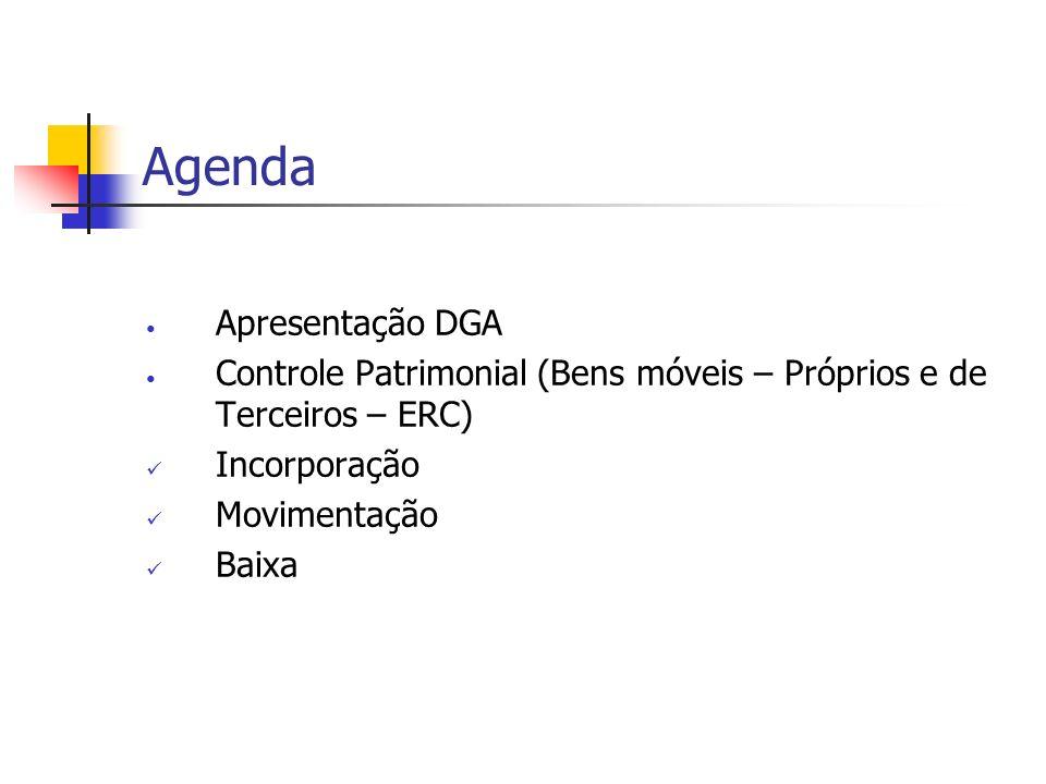 Agenda Apresentação DGA