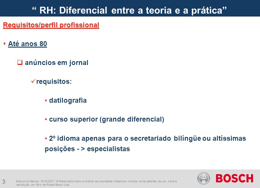RH: Diferencial entre a teoria e a prática