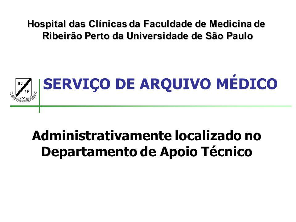 SERVIÇO DE ARQUIVO MÉDICO