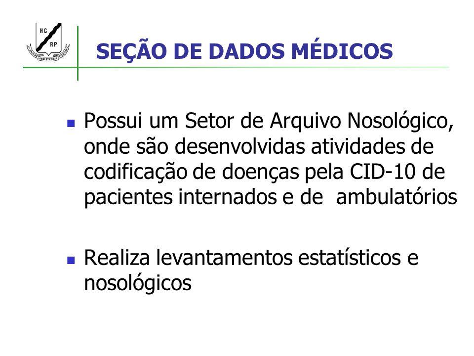 SEÇÃO DE DADOS MÉDICOS