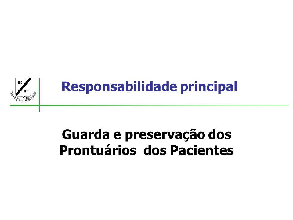 Responsabilidade principal