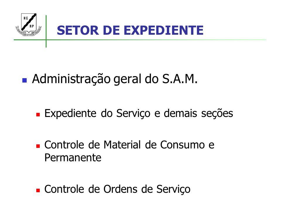 Administração geral do S.A.M.