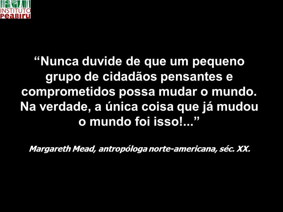 Margareth Mead, antropóloga norte-americana, séc. XX.