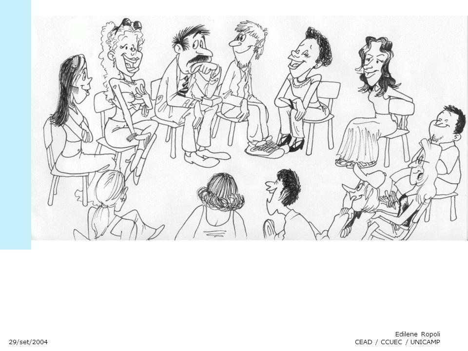 29/set/2004 Edilene Ropoli CEAD / CCUEC / UNICAMP