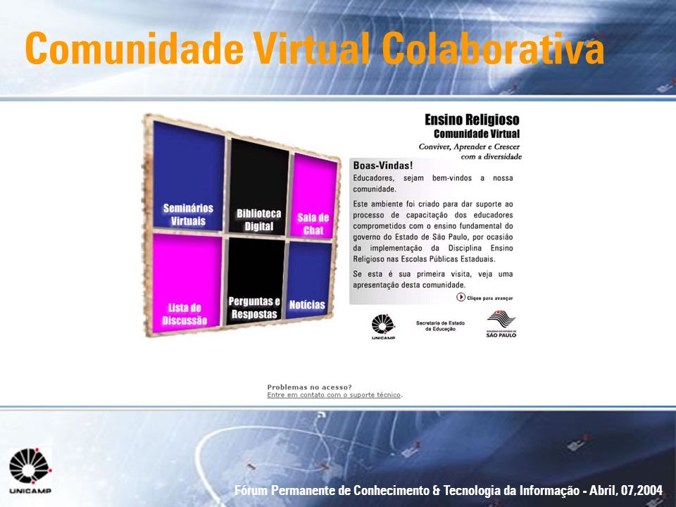 Comunidade Virtual Colaborativa