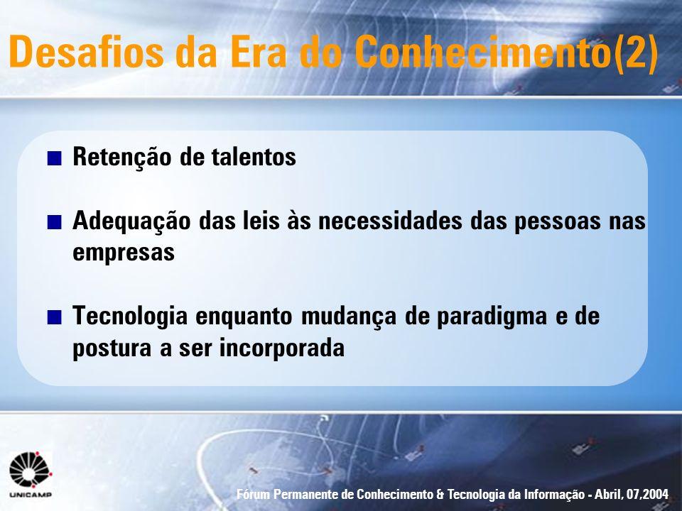 Desafios da Era do Conhecimento(2)