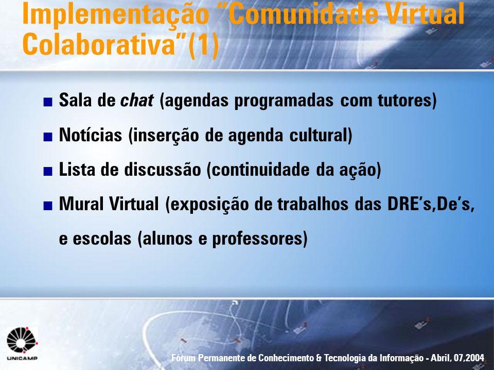 Implementação Comunidade Virtual Colaborativa (1)