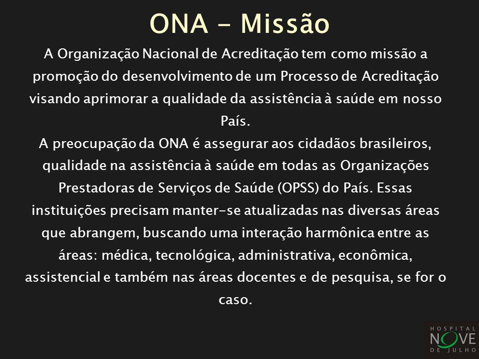 ONA - Missão