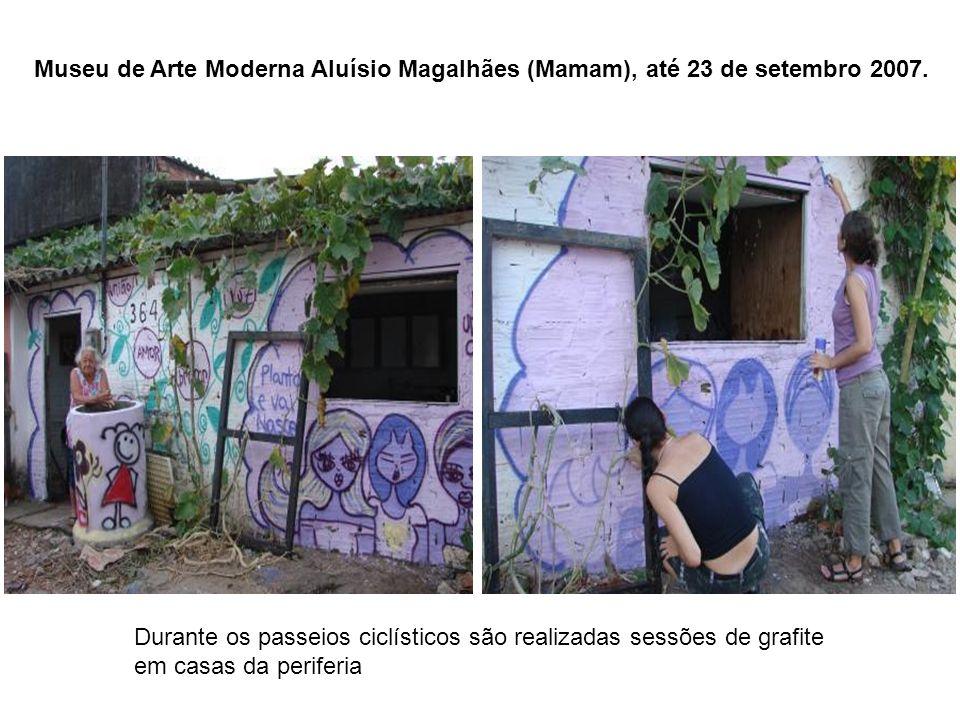 Museu de Arte Moderna Aluísio Magalhães (Mamam), até 23 de setembro 2007.