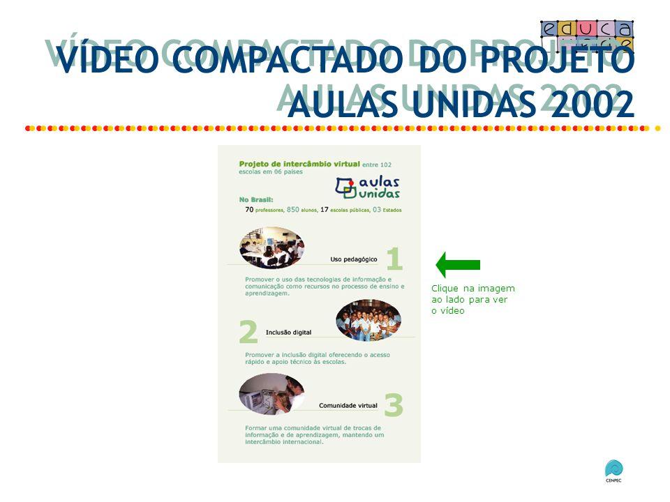 VÍDEO COMPACTADO DO PROJETO AULAS UNIDAS 2002