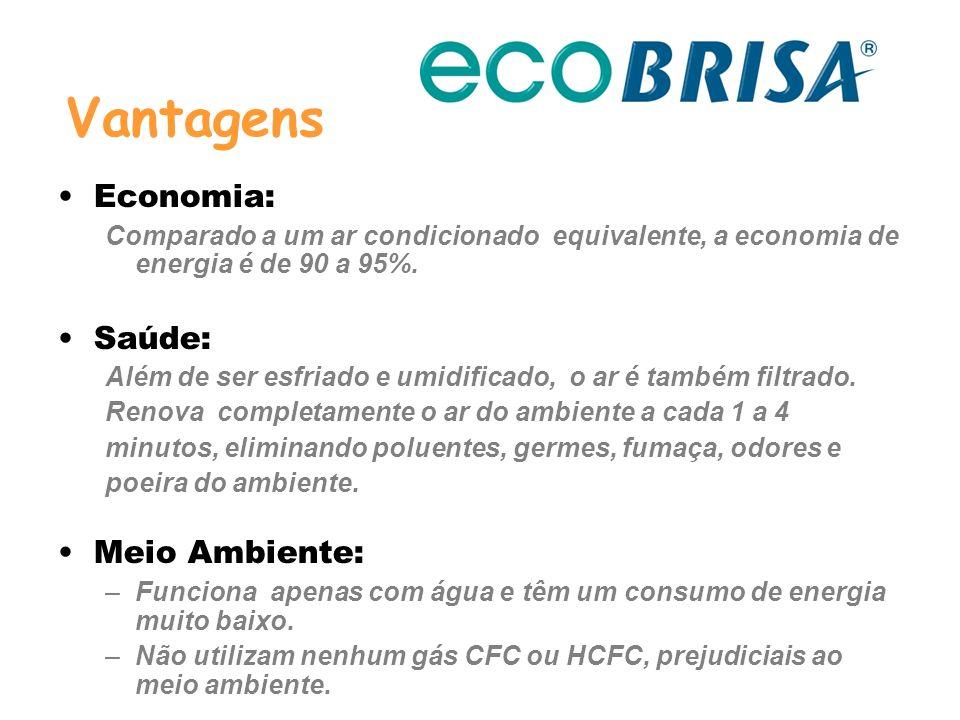 Vantagens Economia: Saúde: Meio Ambiente: