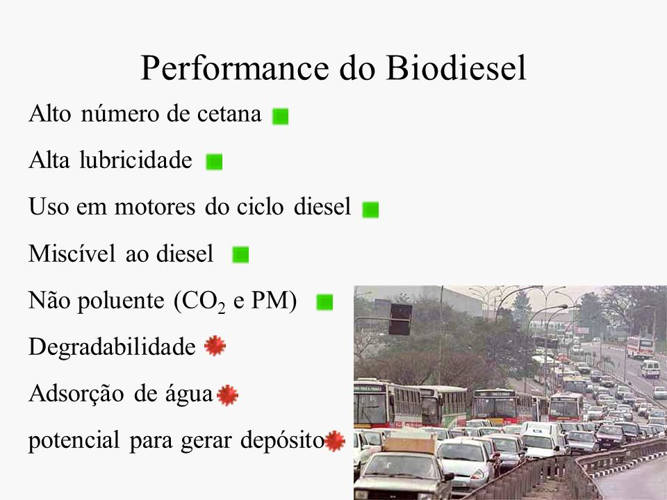 Performance do Biodiesel
