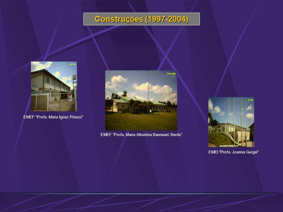 Construções (1997-2004) EMEF Profa. Maria Ignez Pinezzi