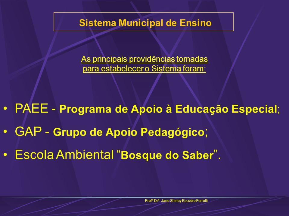 Sistema Municipal de Ensino