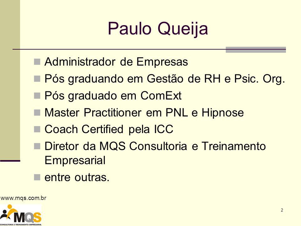 Paulo Queija Administrador de Empresas