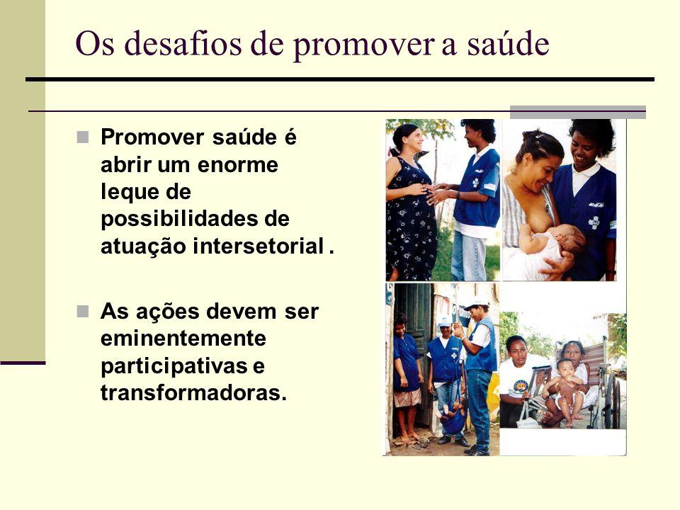 Os desafios de promover a saúde