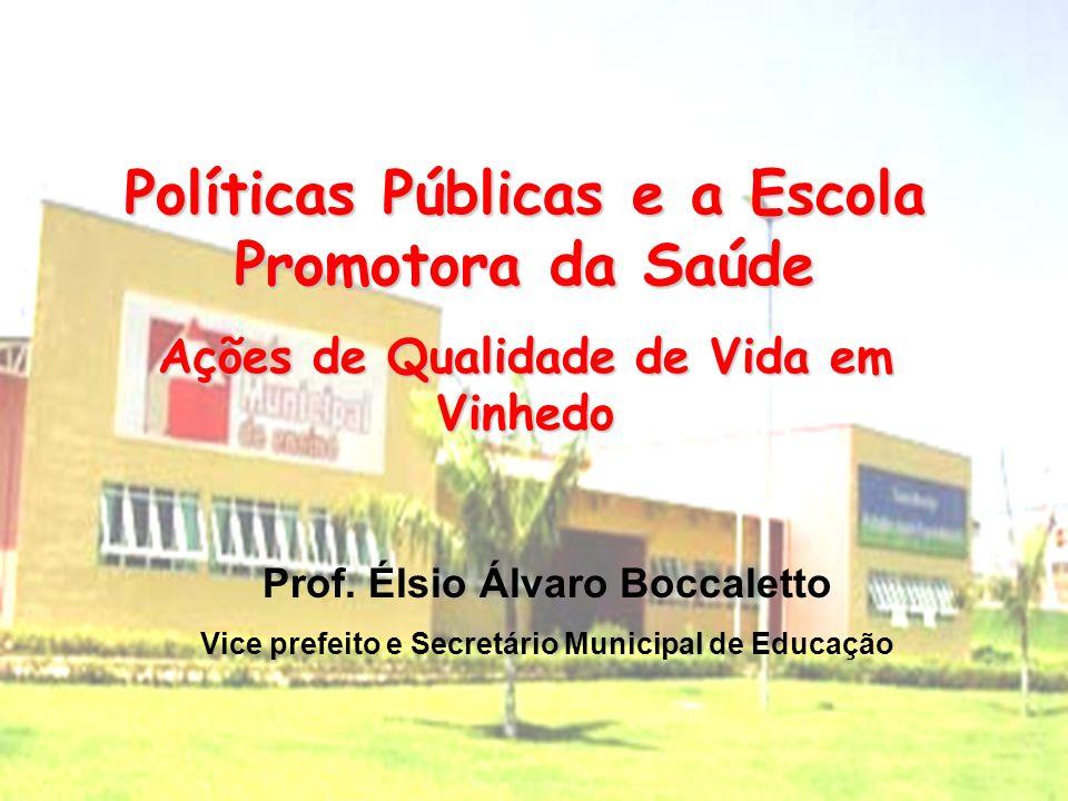 Políticas Públicas e a Escola Promotora da Saúde