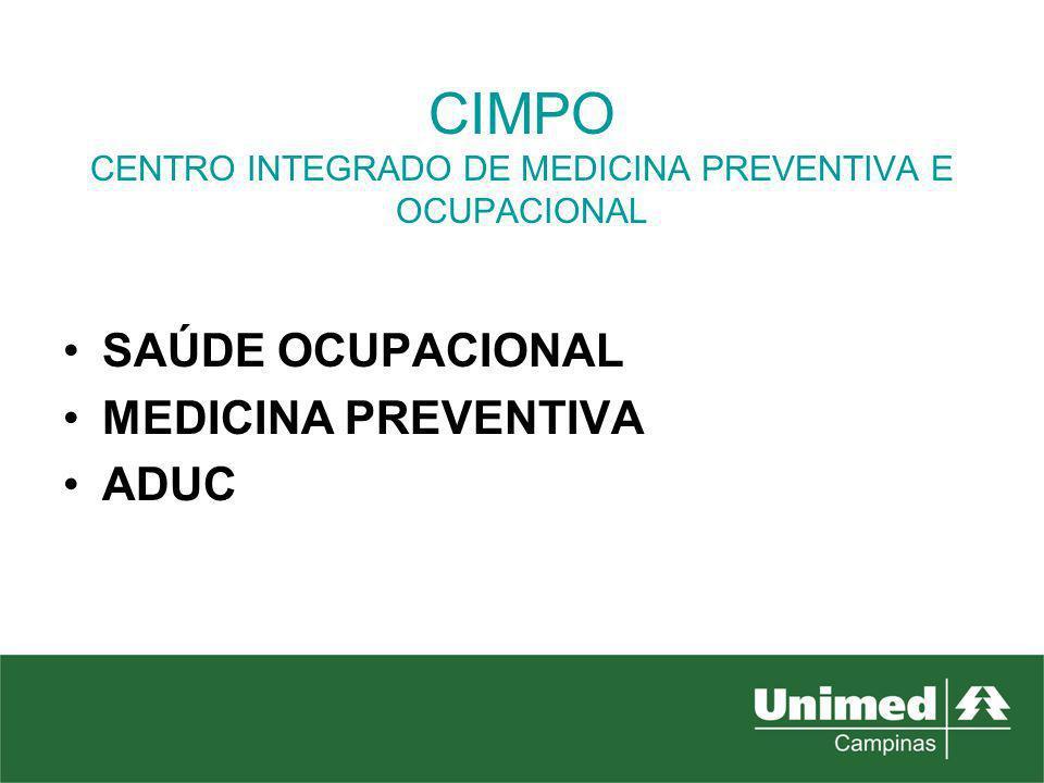 CIMPO CENTRO INTEGRADO DE MEDICINA PREVENTIVA E OCUPACIONAL