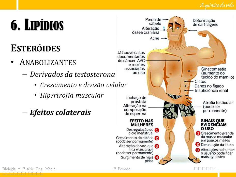 6. Lipídios Esteróides Anabolizantes Derivados da testosterona