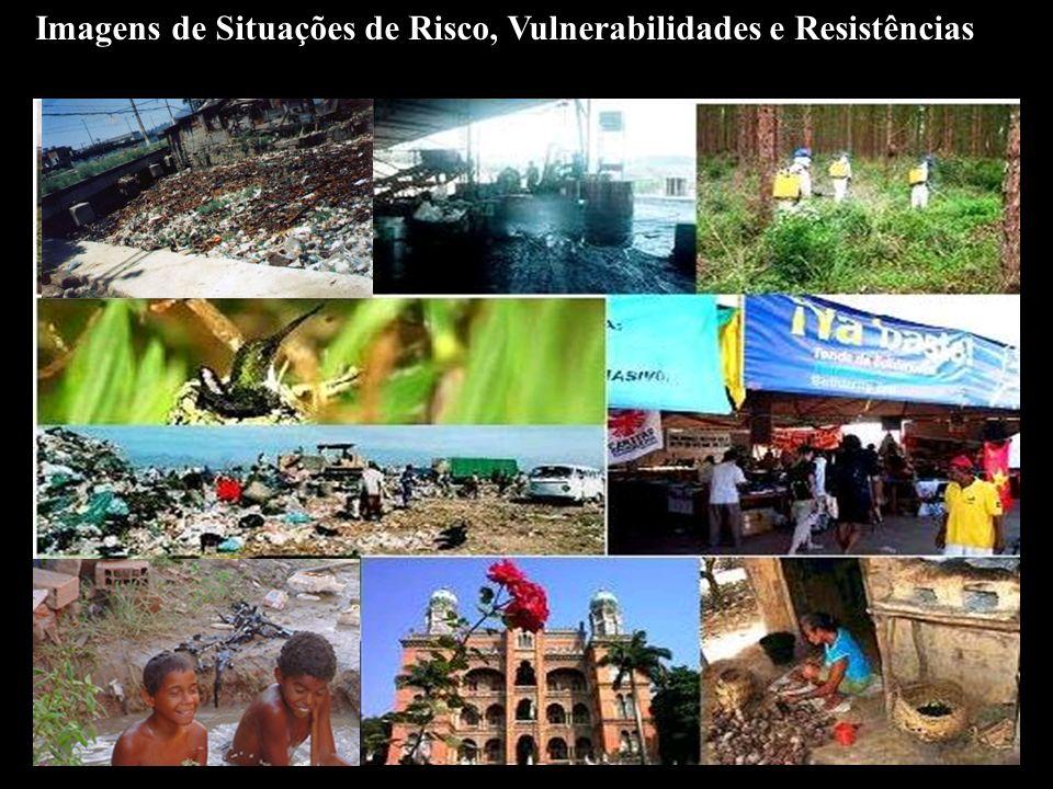 Imagens de Situações de Risco, Vulnerabilidades e Resistências