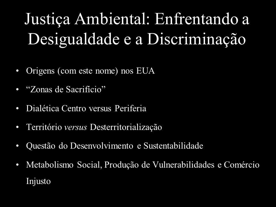 Justiça Ambiental: Enfrentando a Desigualdade e a Discriminação