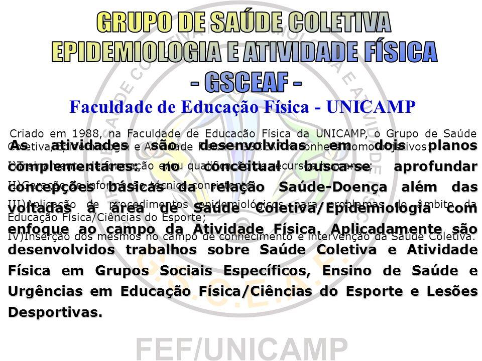 Faculdade de Educação Física - UNICAMP