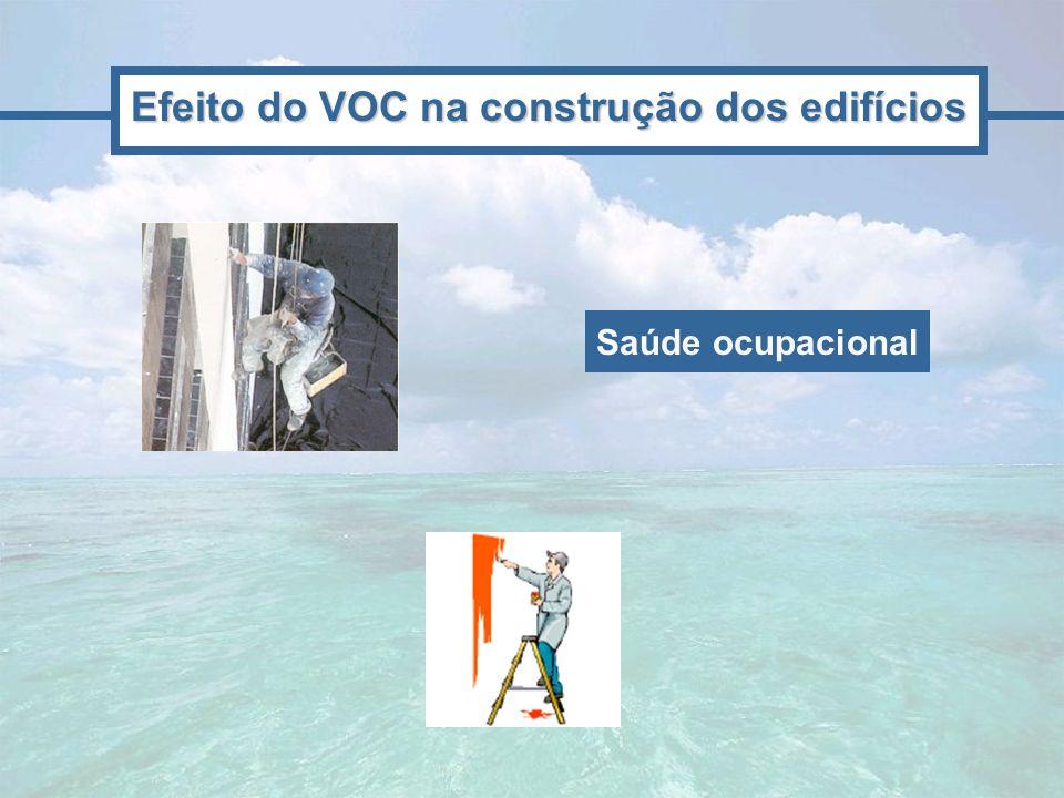 Efeito do VOC na construção dos edifícios