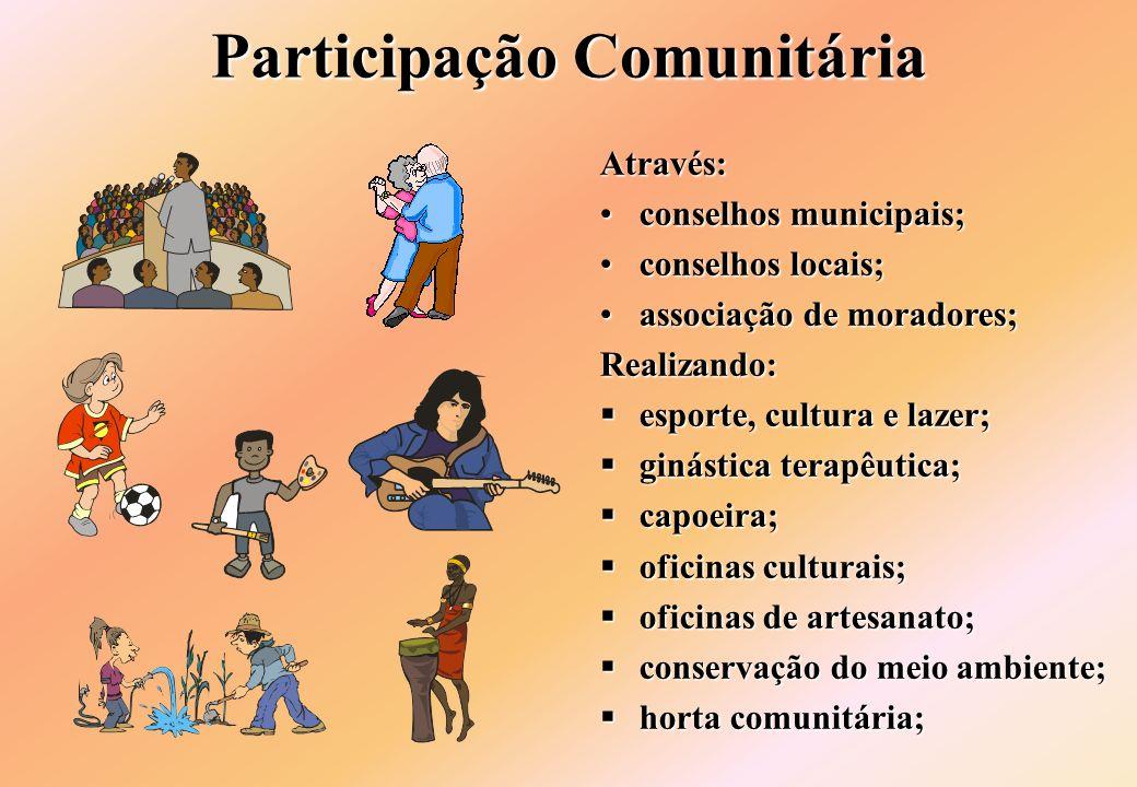 Participação Comunitária