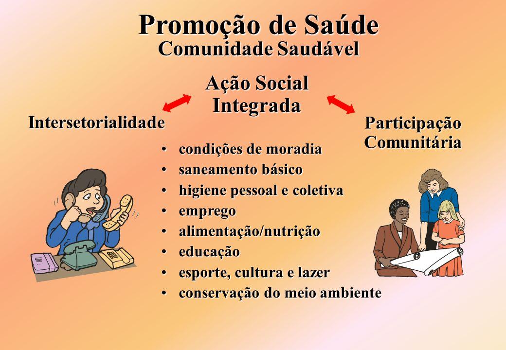 Promoção de Saúde Comunidade Saudável