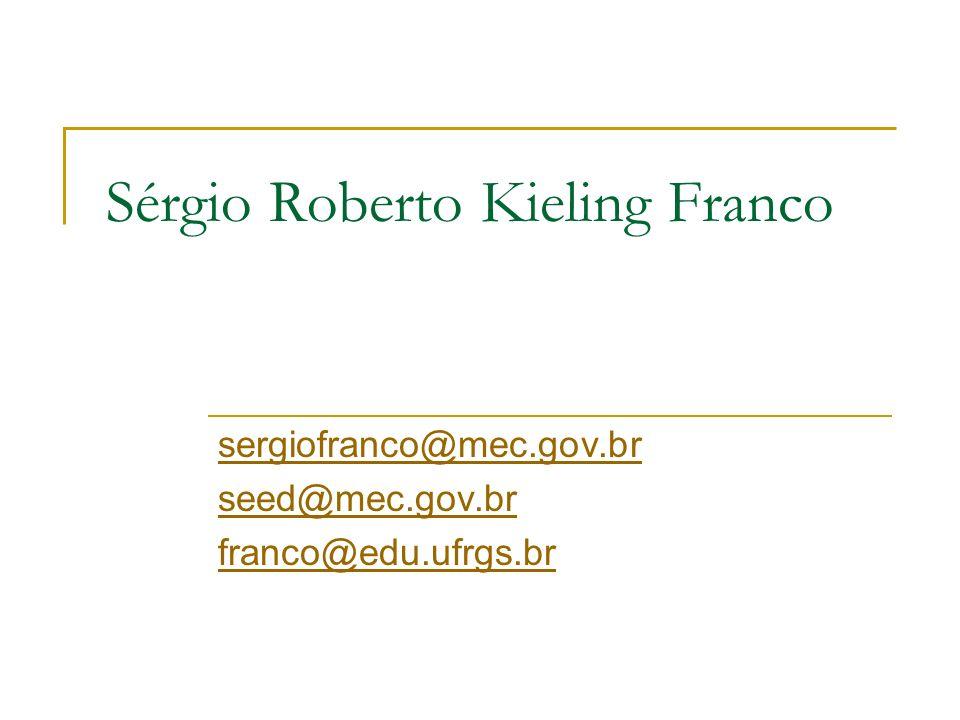 Sérgio Roberto Kieling Franco