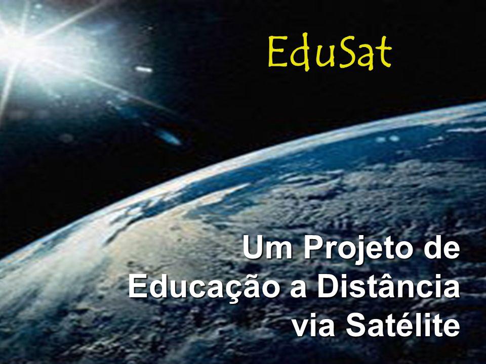 Um Projeto de Educação a Distância via Satélite
