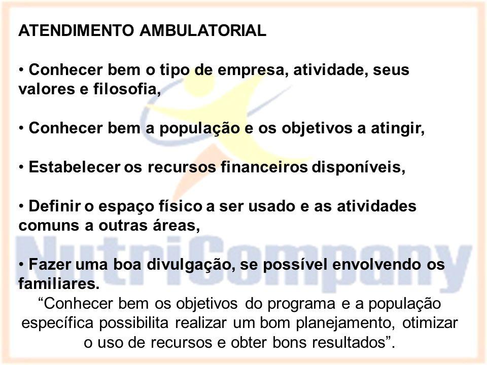 ATENDIMENTO AMBULATORIAL