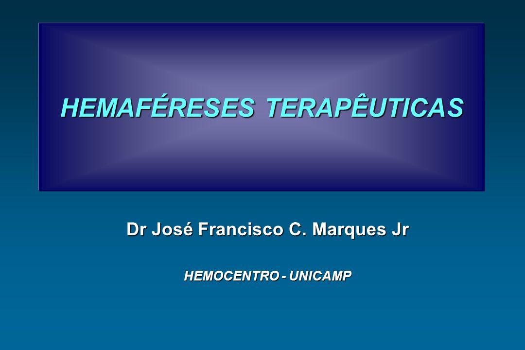 HEMAFÉRESES TERAPÊUTICAS