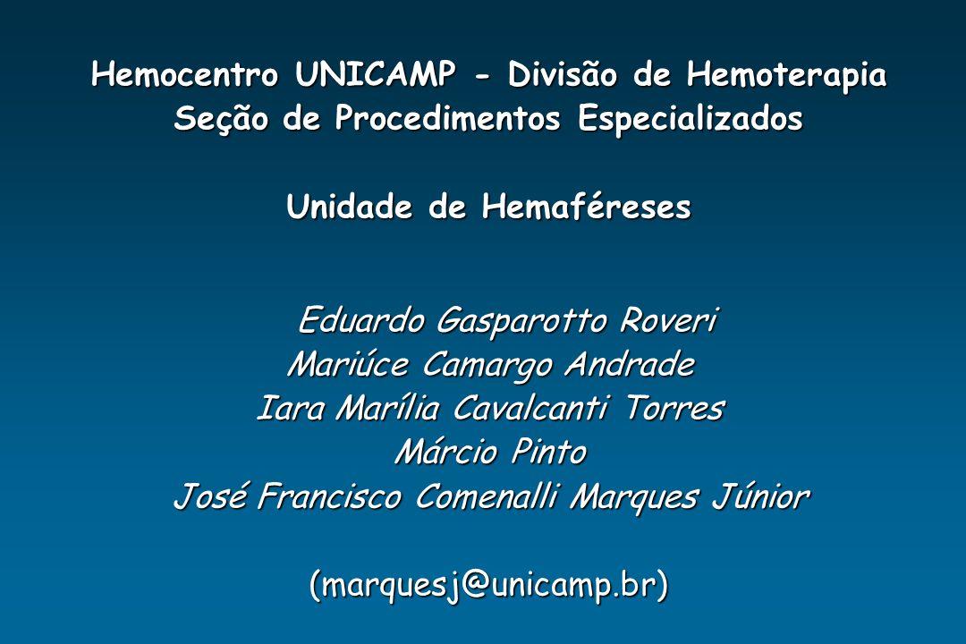 Hemocentro UNICAMP - Divisão de Hemoterapia