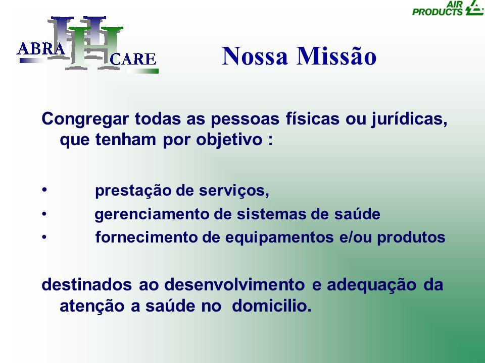 Nossa Missão Congregar todas as pessoas físicas ou jurídicas, que tenham por objetivo : prestação de serviços,