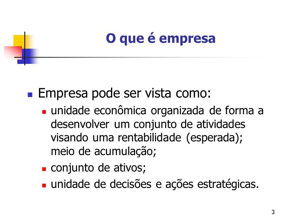 Empresa pode ser vista como: