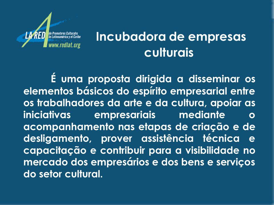 Incubadora de empresas culturais