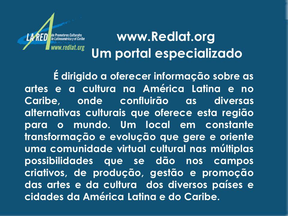 www.Redlat.org Um portal especializado