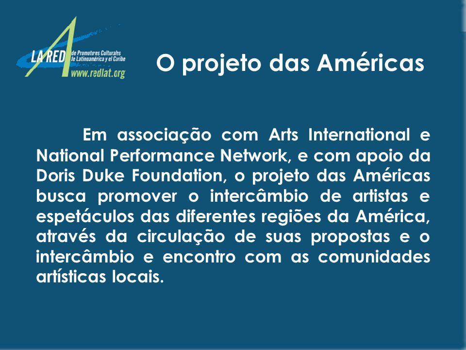O projeto das Américas