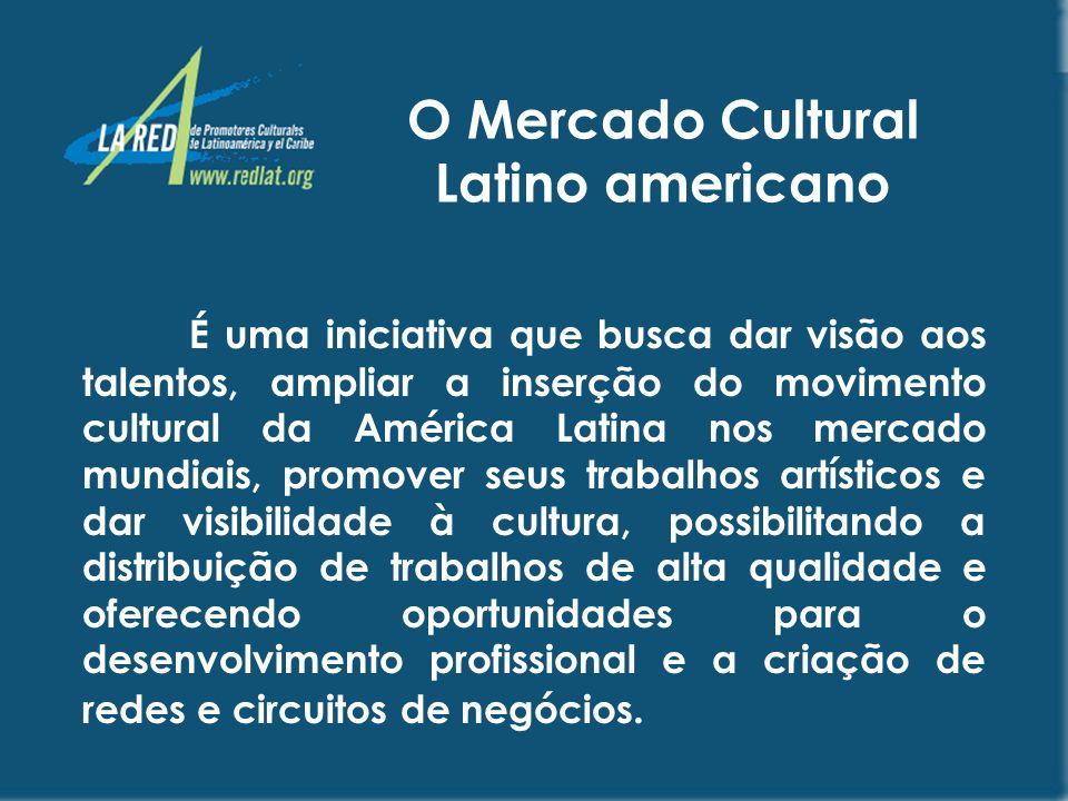 O Mercado Cultural Latino americano
