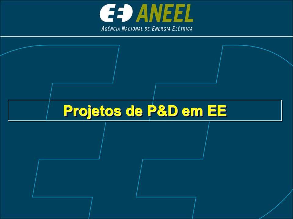 Projetos de P&D em EE