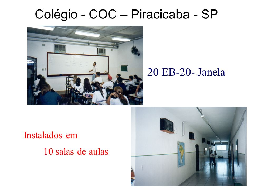 Colégio - COC – Piracicaba - SP