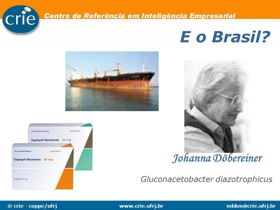 E o Brasil Johanna Döbereiner Gluconacetobacter diazotrophicus