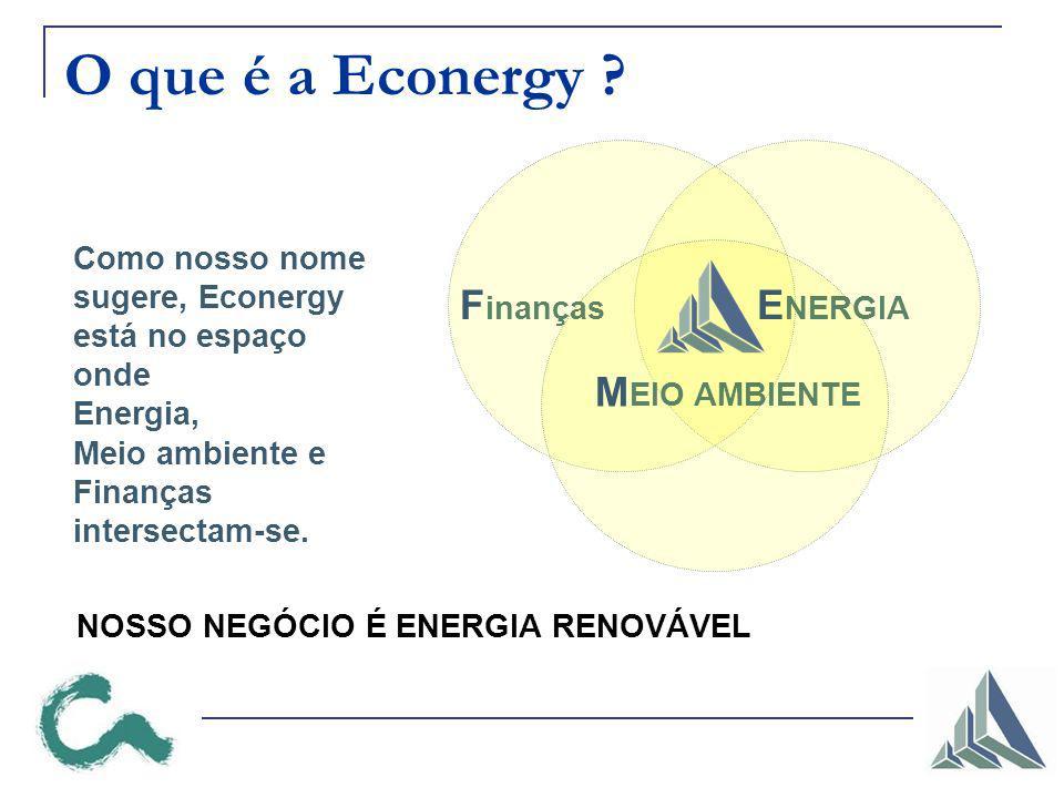O que é a Econergy Finanças ENERGIA MEIO AMBIENTE