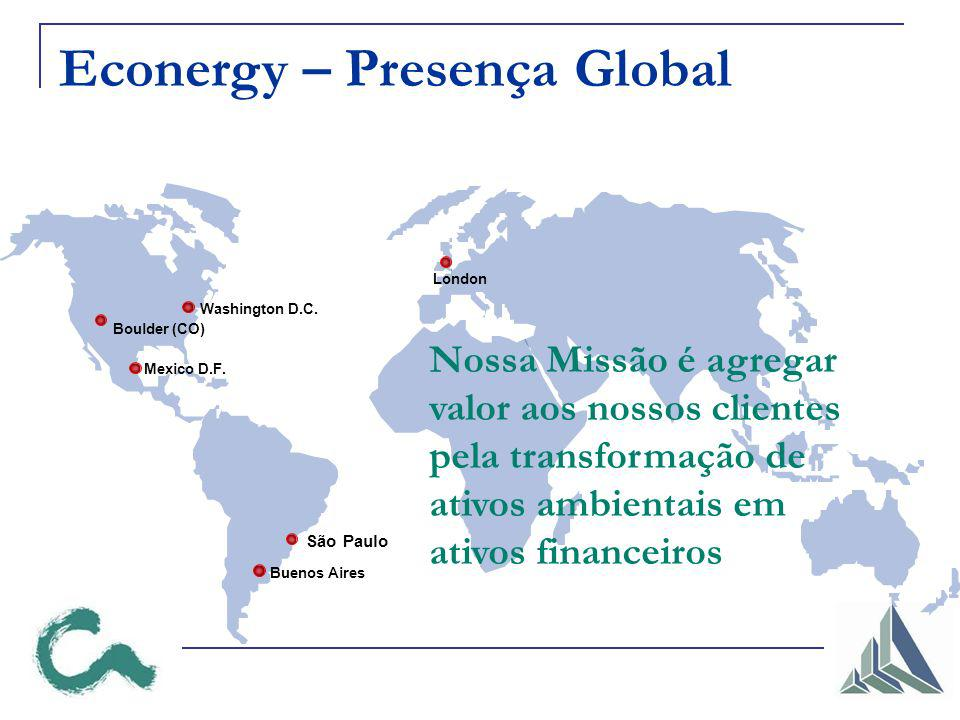 Econergy – Presença Global