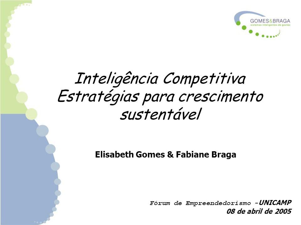 Inteligência Competitiva Estratégias para crescimento sustentável