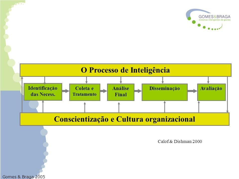 O Processo de Inteligência Conscientização e Cultura organizacional