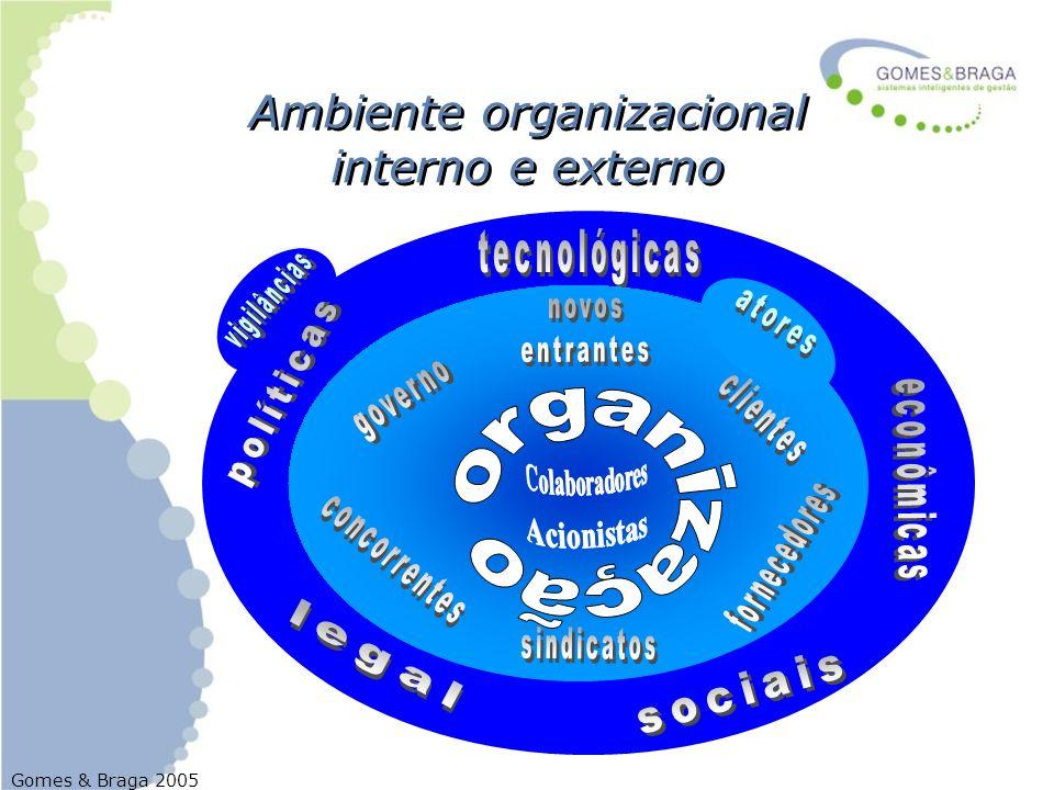 Ambiente organizacional interno e externo